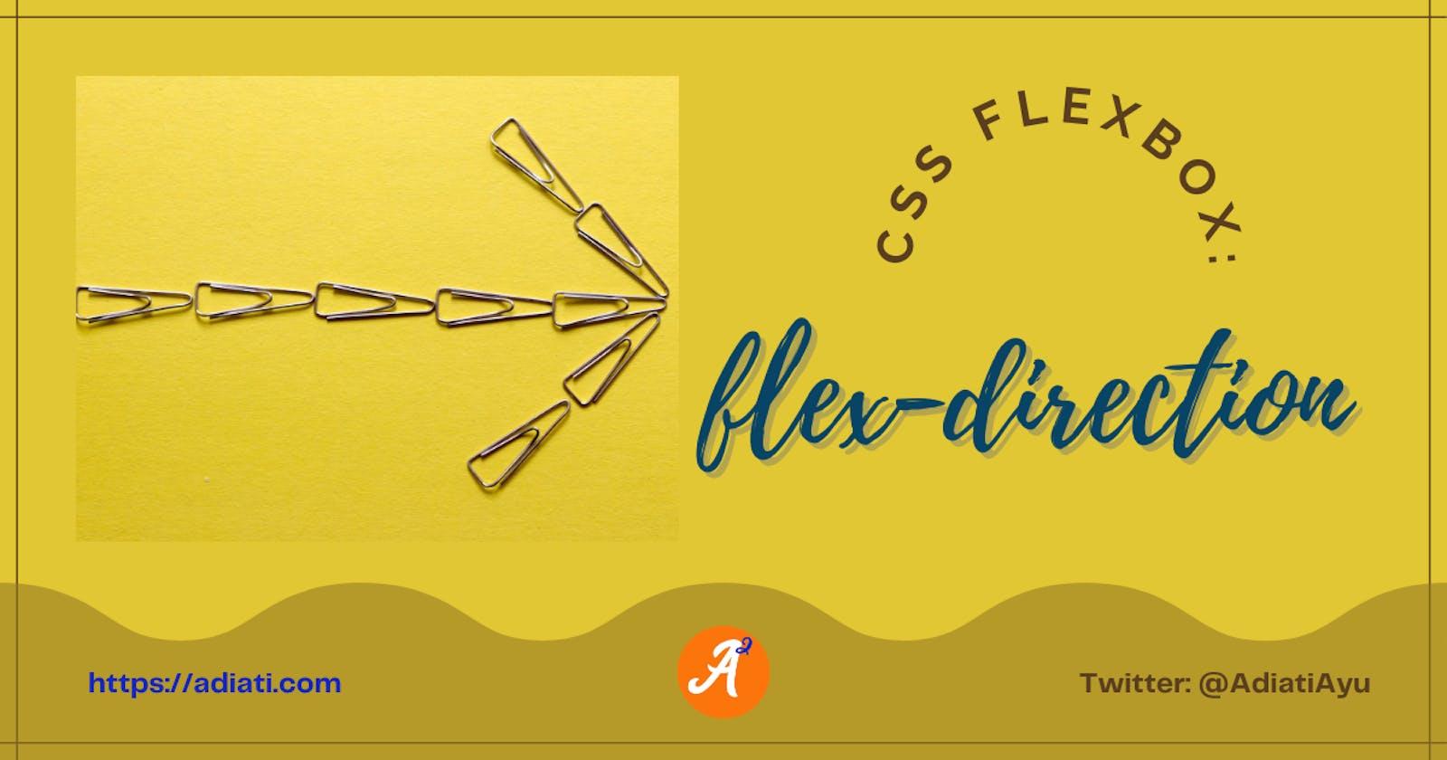 CSS Flexbox: flex-direction