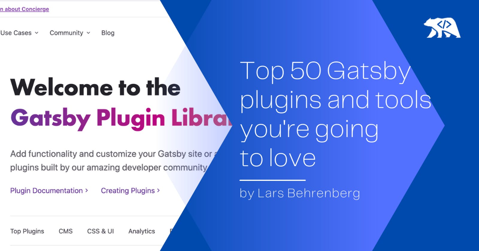 Top 50 Gatsby plugins you're going to love 🔥👨💻