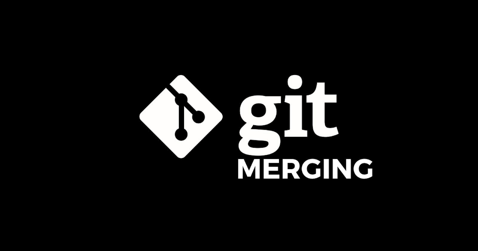 Merging in GIT
