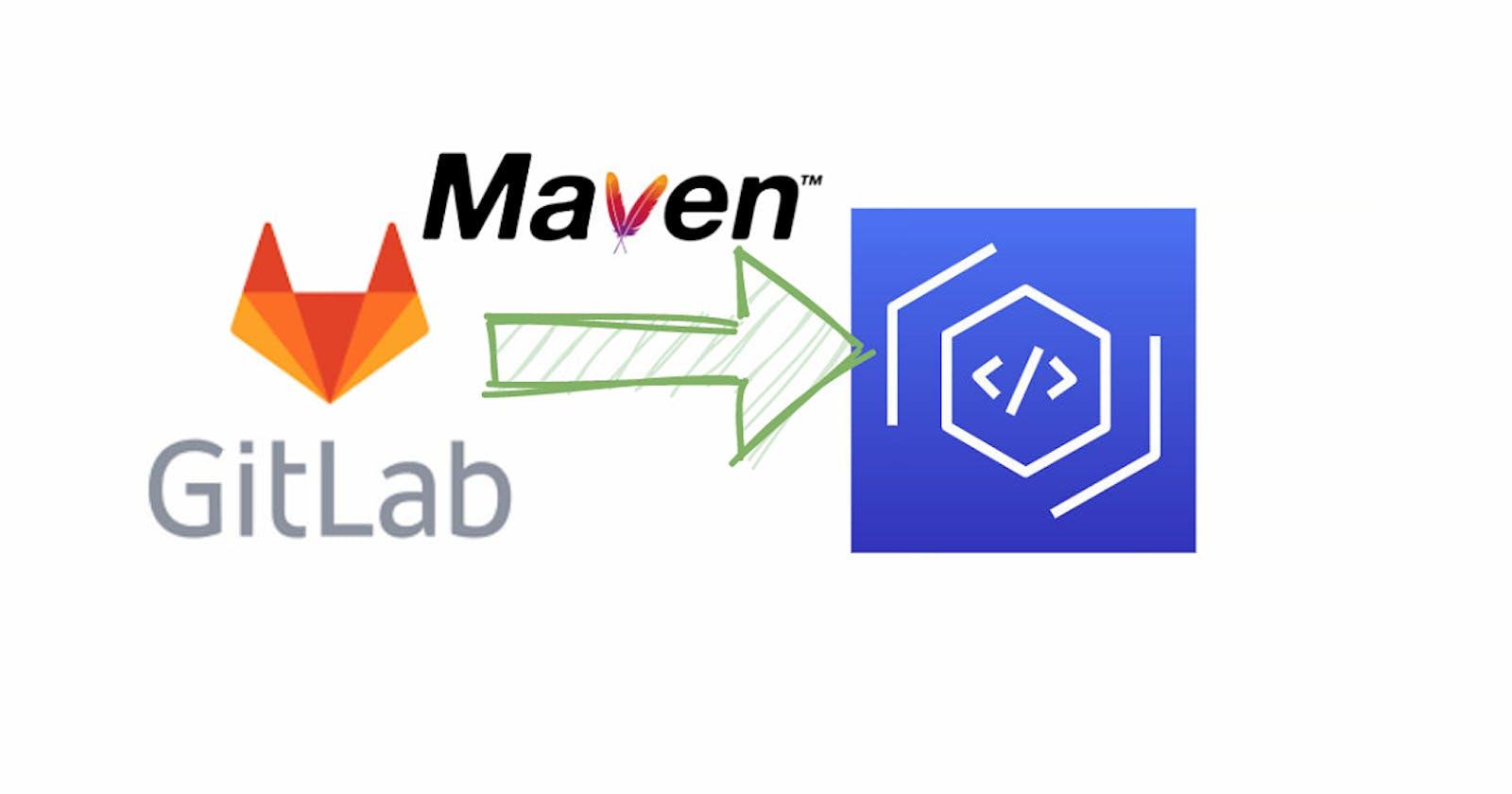 Gitlab CI : use AWS CodeArtifact with Maven