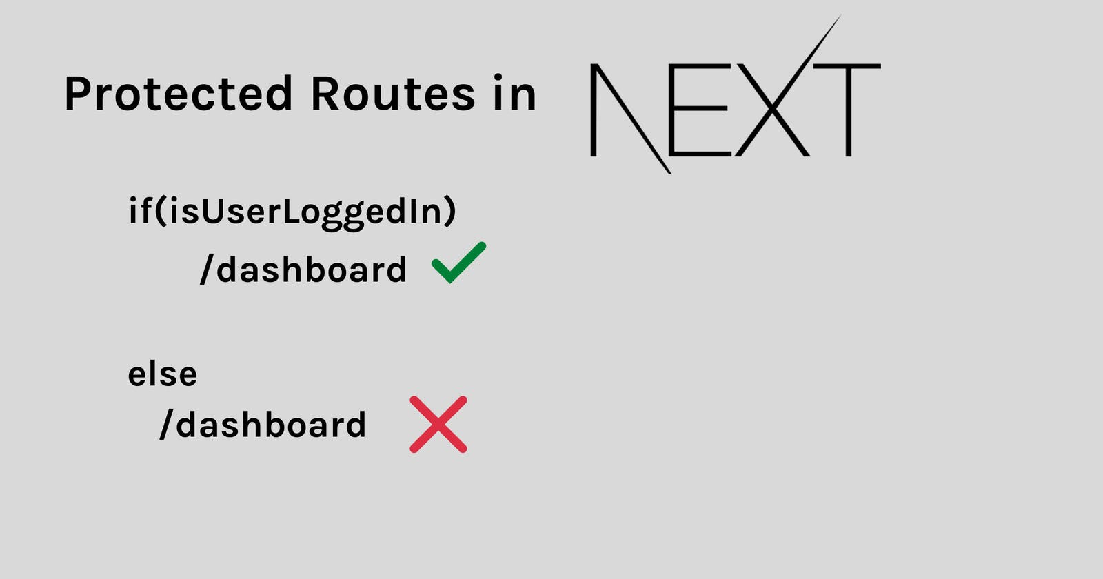 Implement Protected Routes in NextJS