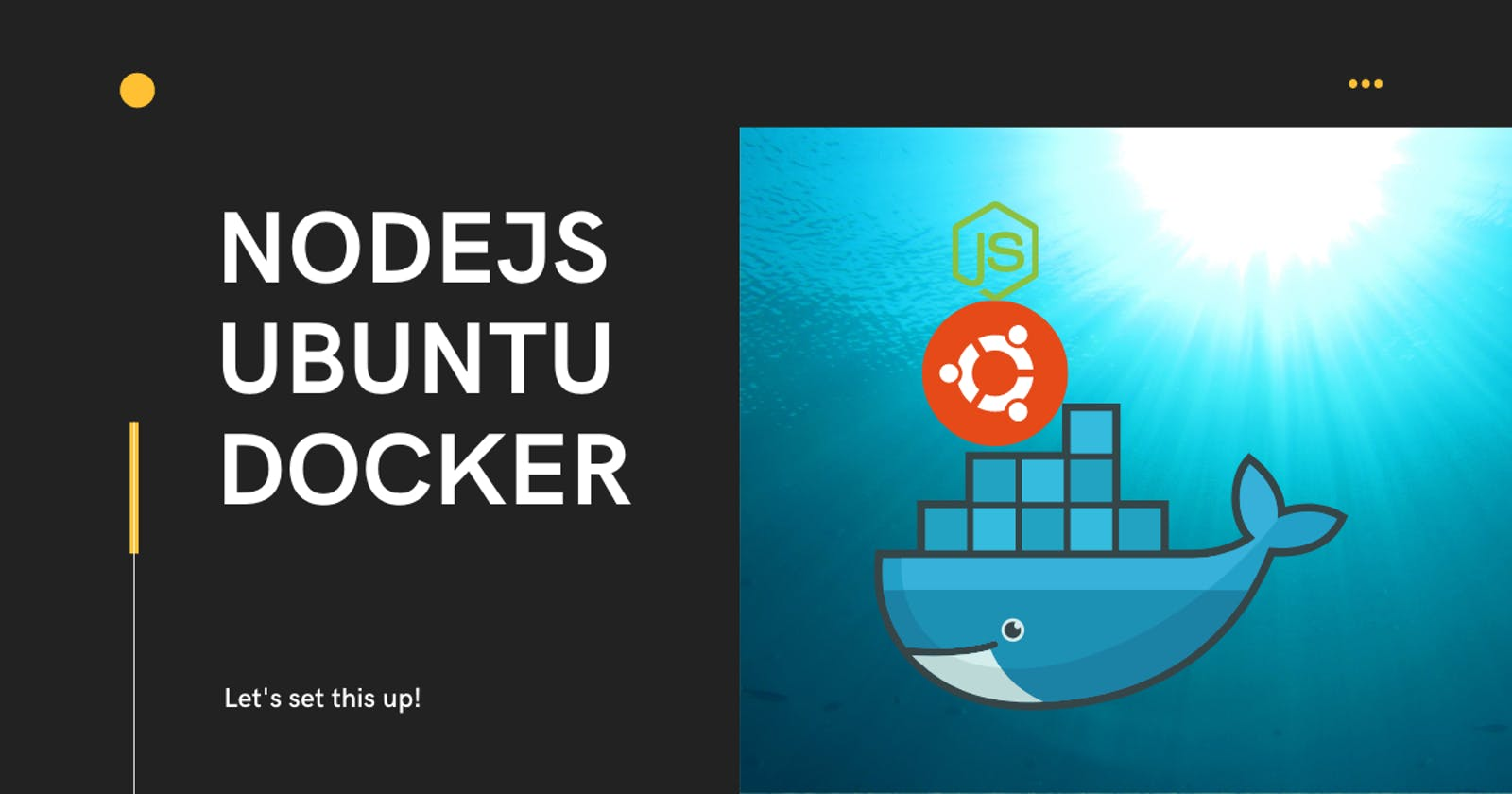 Setting up a New Ubuntu Docker Container for NodeJS