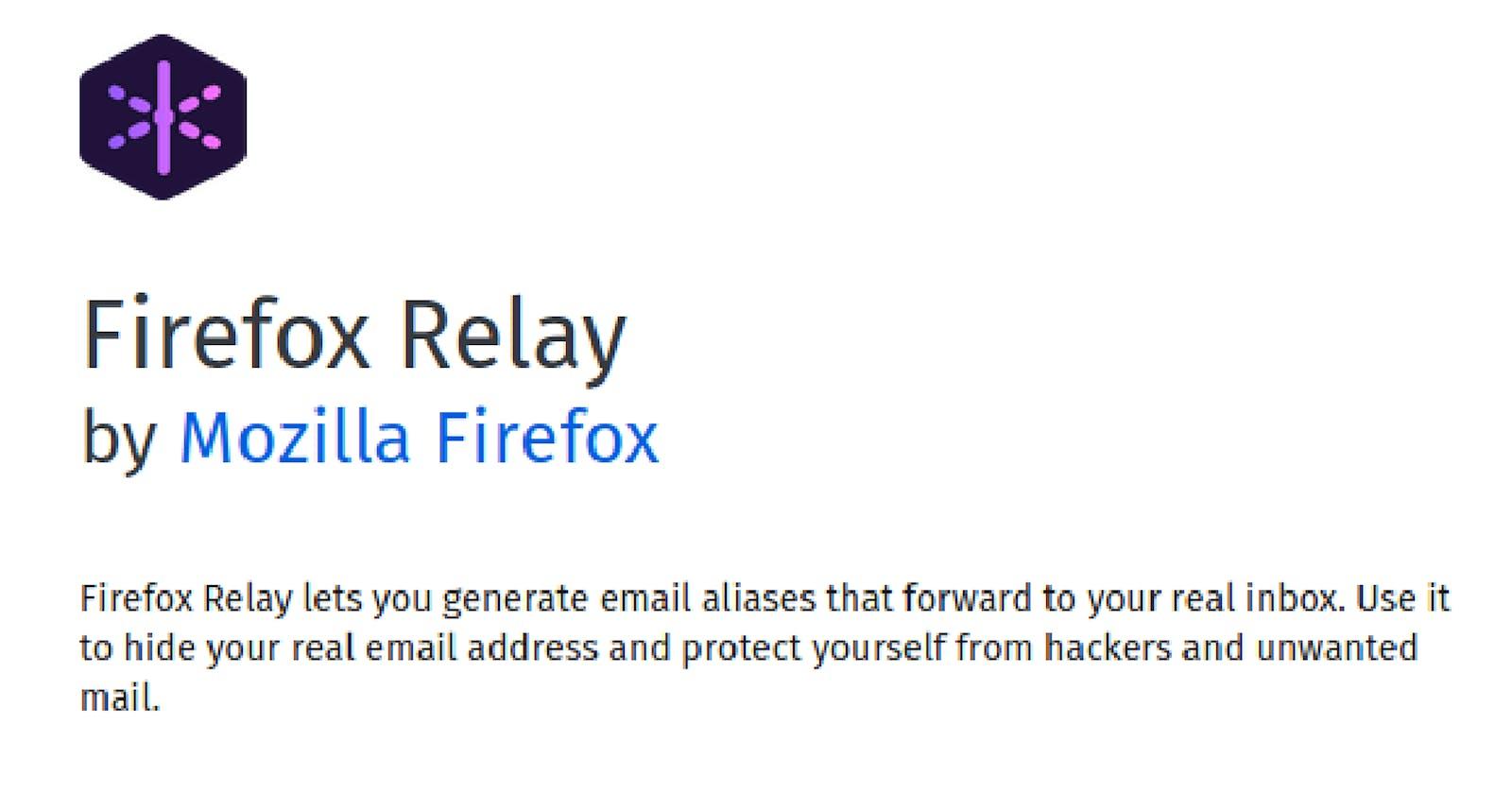 Protege tu correo de spam con Firefox Relay