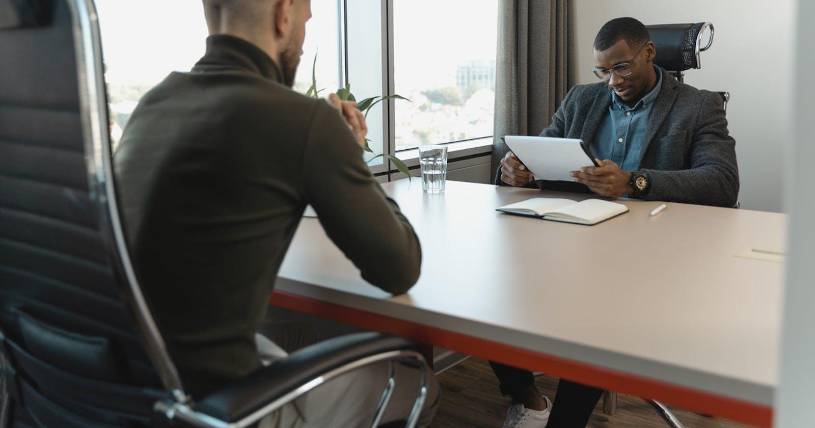 Being a better Interviewer