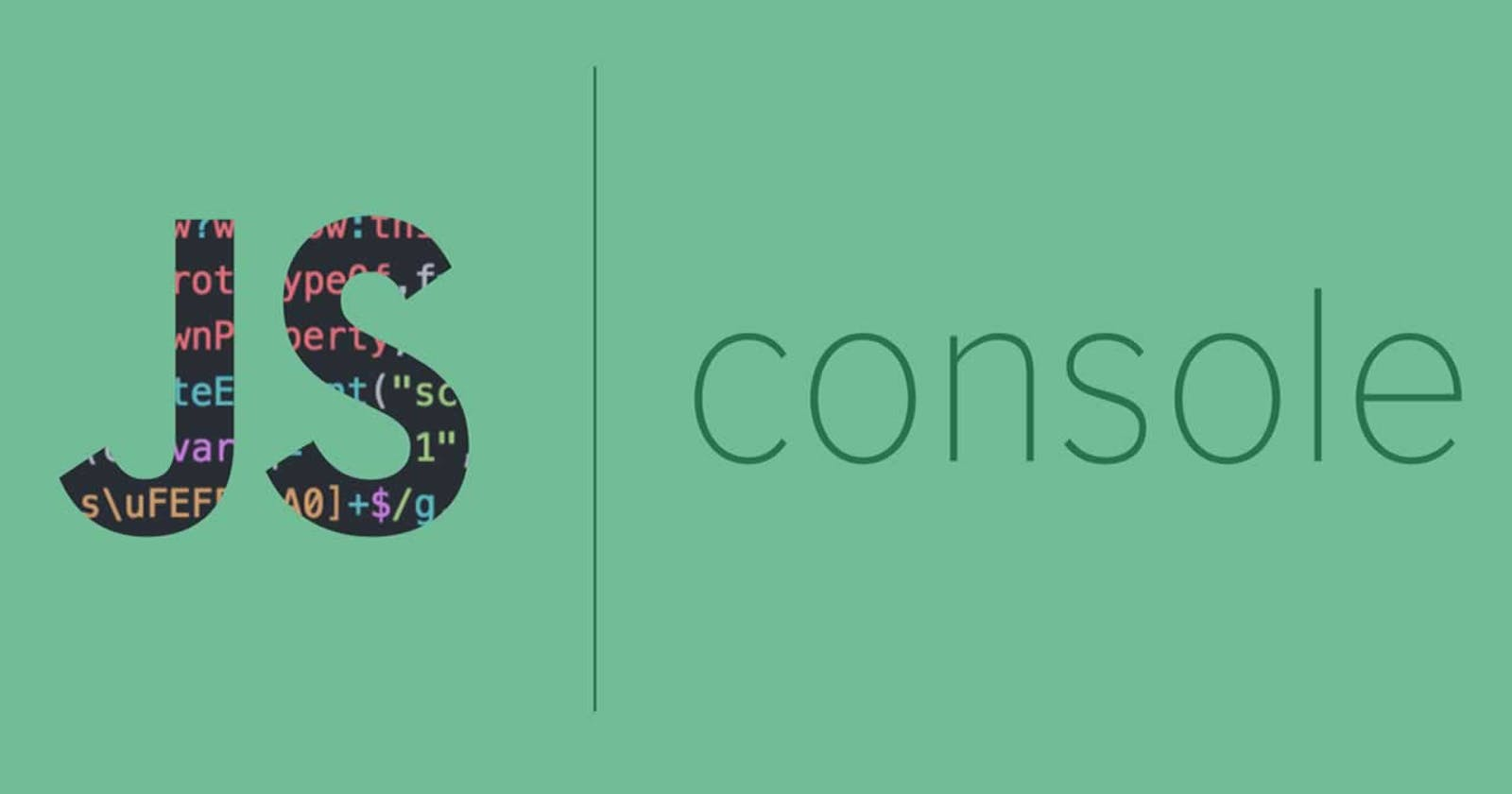 Different types of console statements in JavaScript
