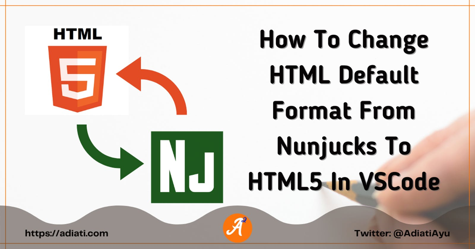 How To Change HTML Default Format From Nunjucks To HTML5 In VSCode