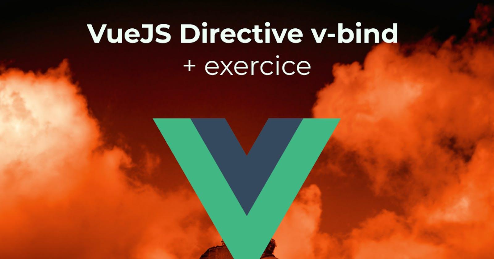 VueJS : V-bind