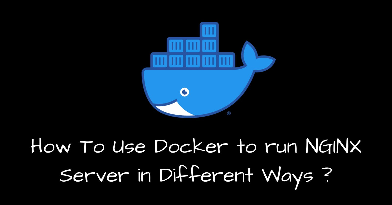 Using Docker to Run Nginx Server in Different Ways