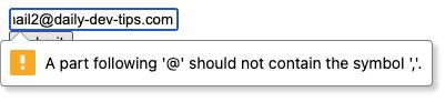 Email non mulitple
