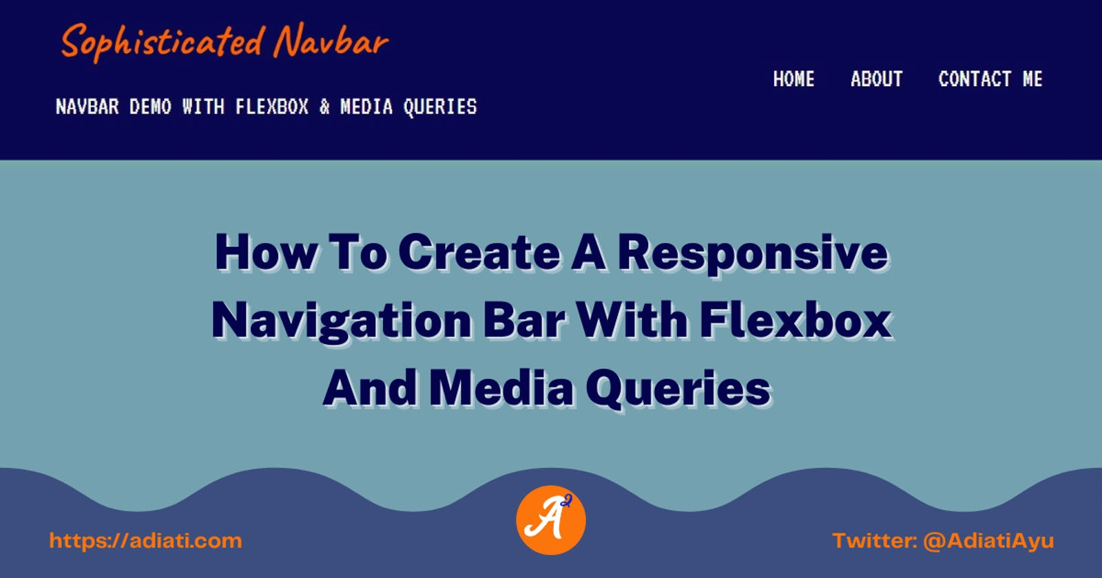How To Create A Responsive Navigation Bar With Flexbox And Media Queries