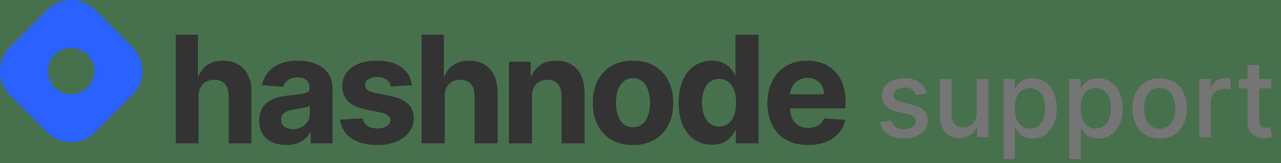 Hashnode Support Logo