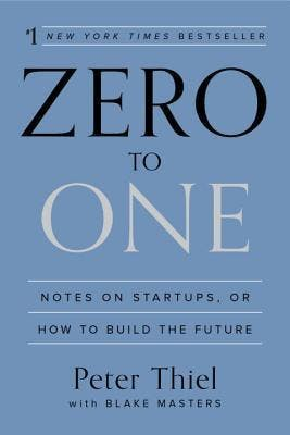 Zero to One - book cover