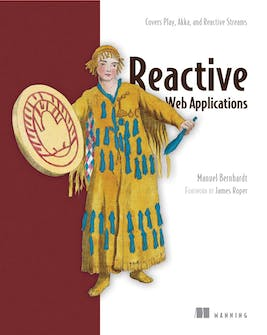 Reactive Web Applications - book cover