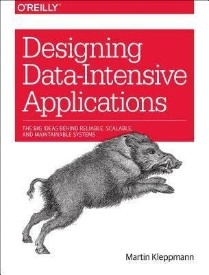 Designing Data-Intensive Applications - book cover