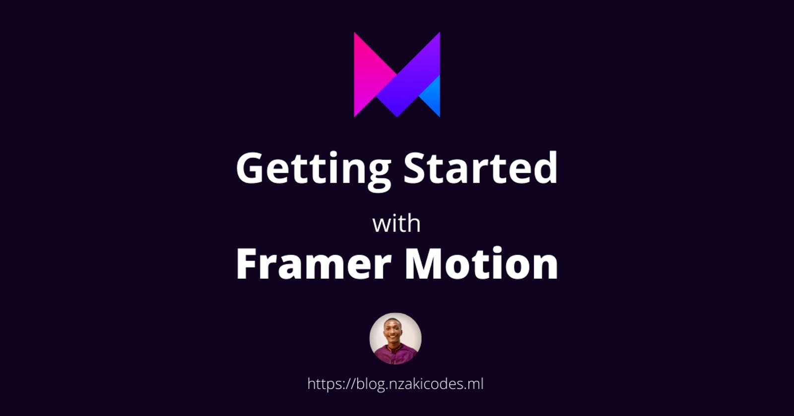 Getting Started with Framer Motion - An Overview and Walkthrough Tutorial.