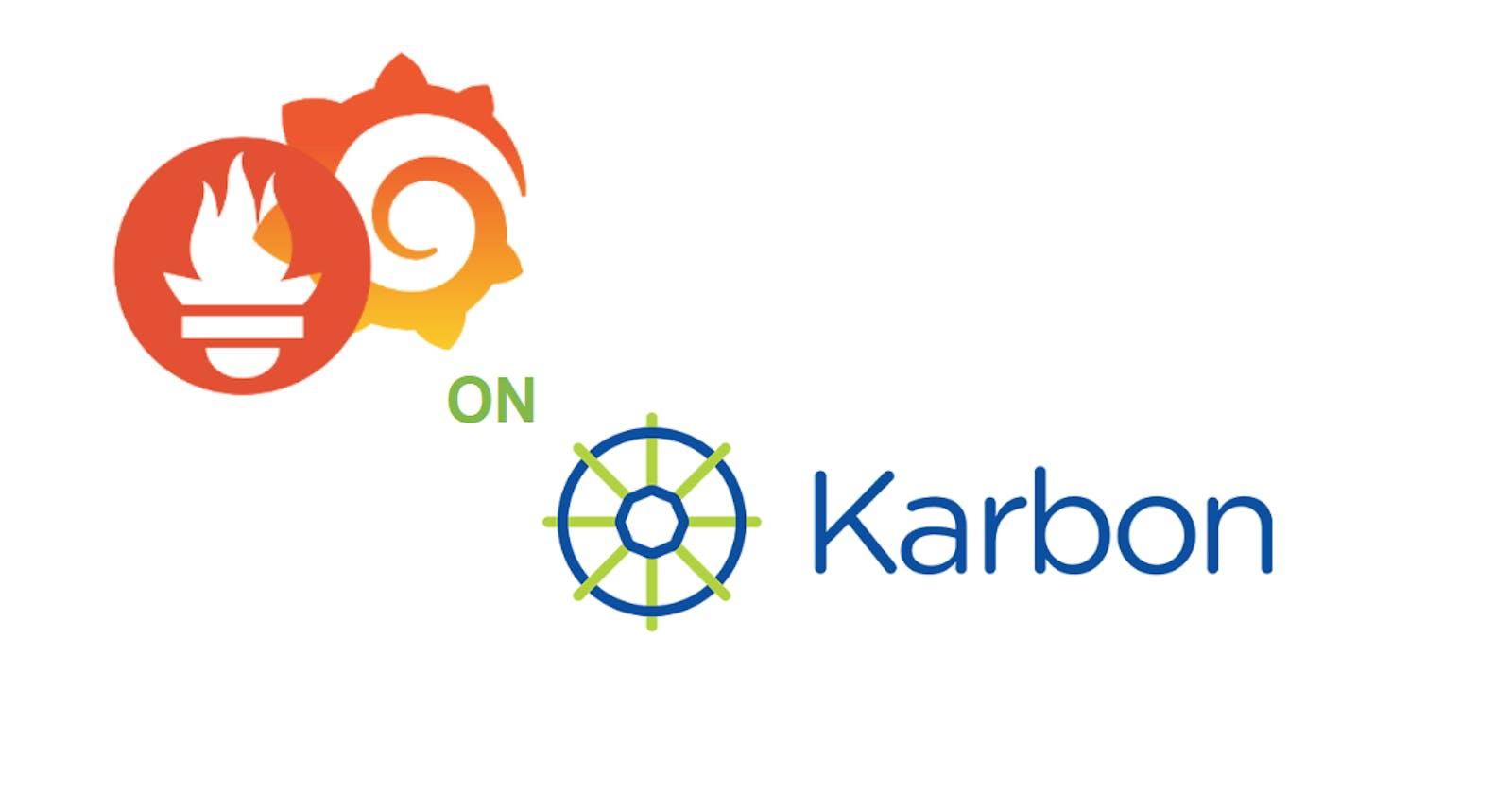 App Monitoring on Nutanix Karbon with Prometheus and Grafana