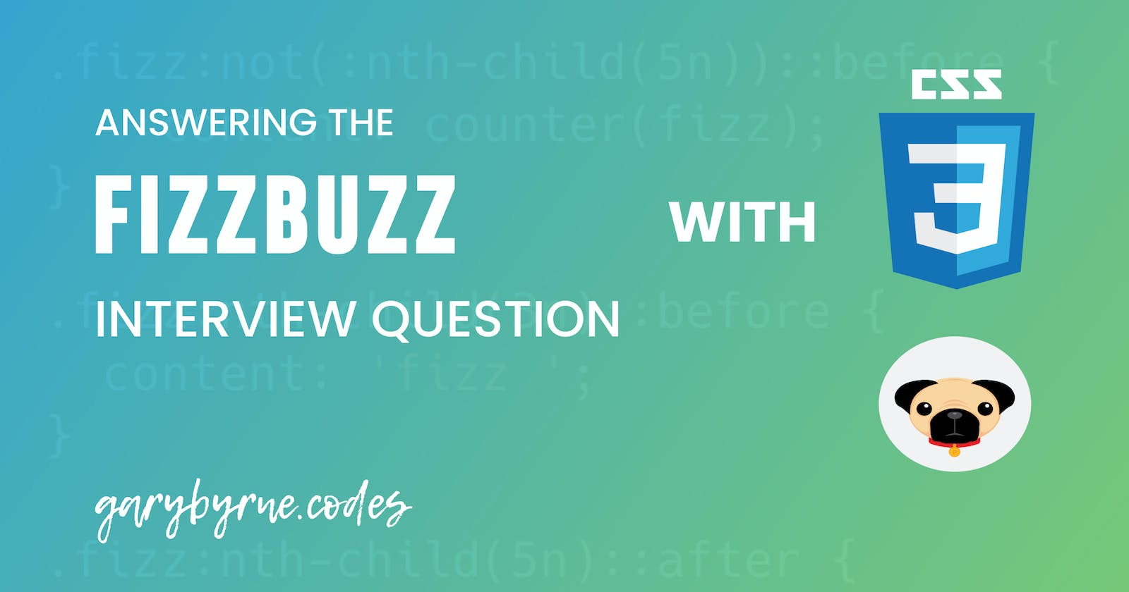 Fizzbuzz with CSS and Pug