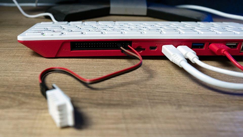 Raspberry Pi 400 with GPIO Header