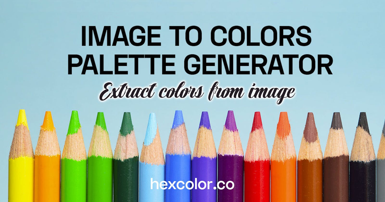 Pick Color Palette from Photo