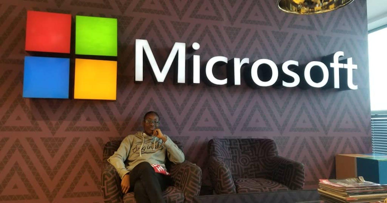 My Microsoft Internship