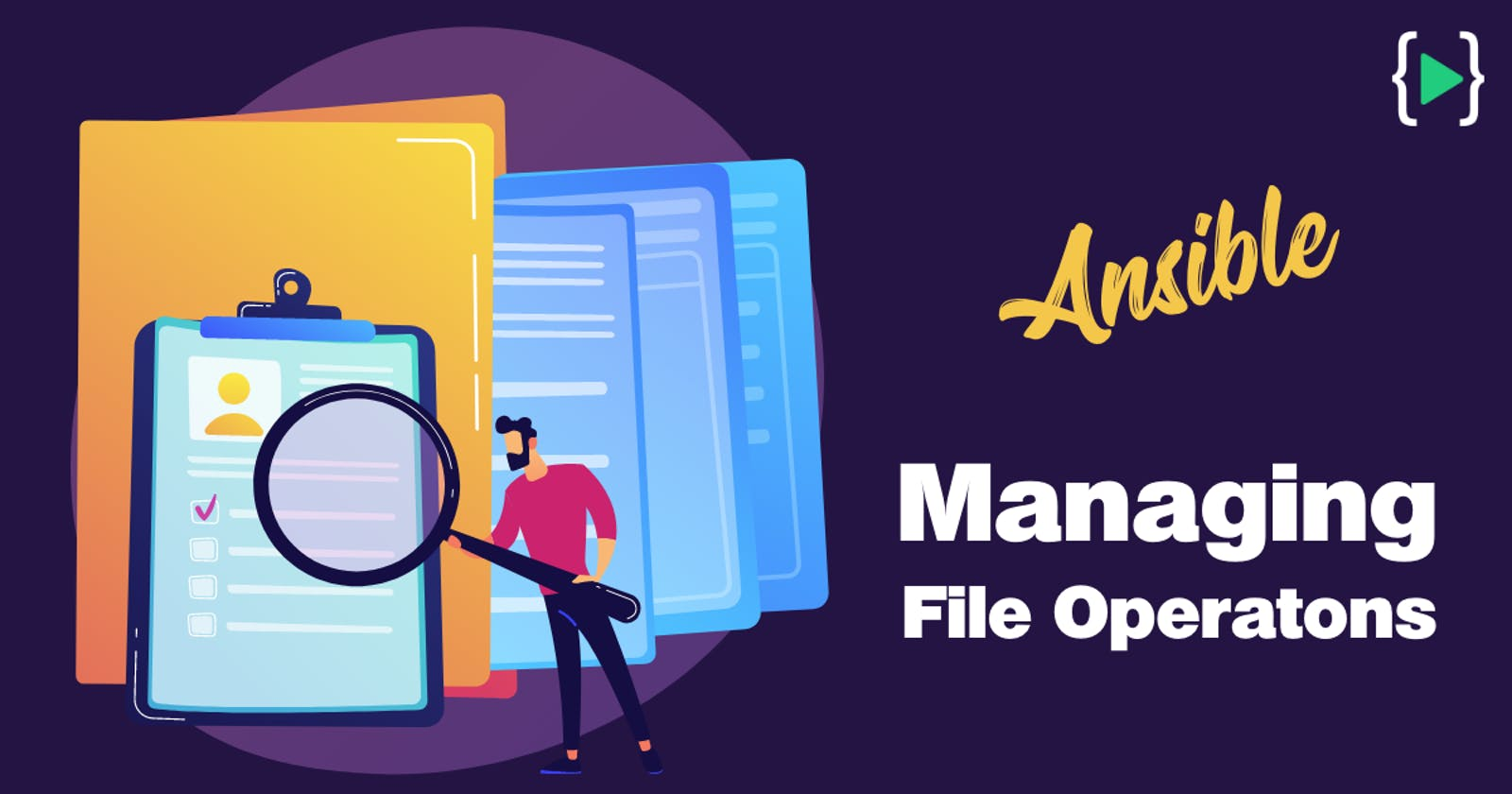 Managing File Operations With Ansible