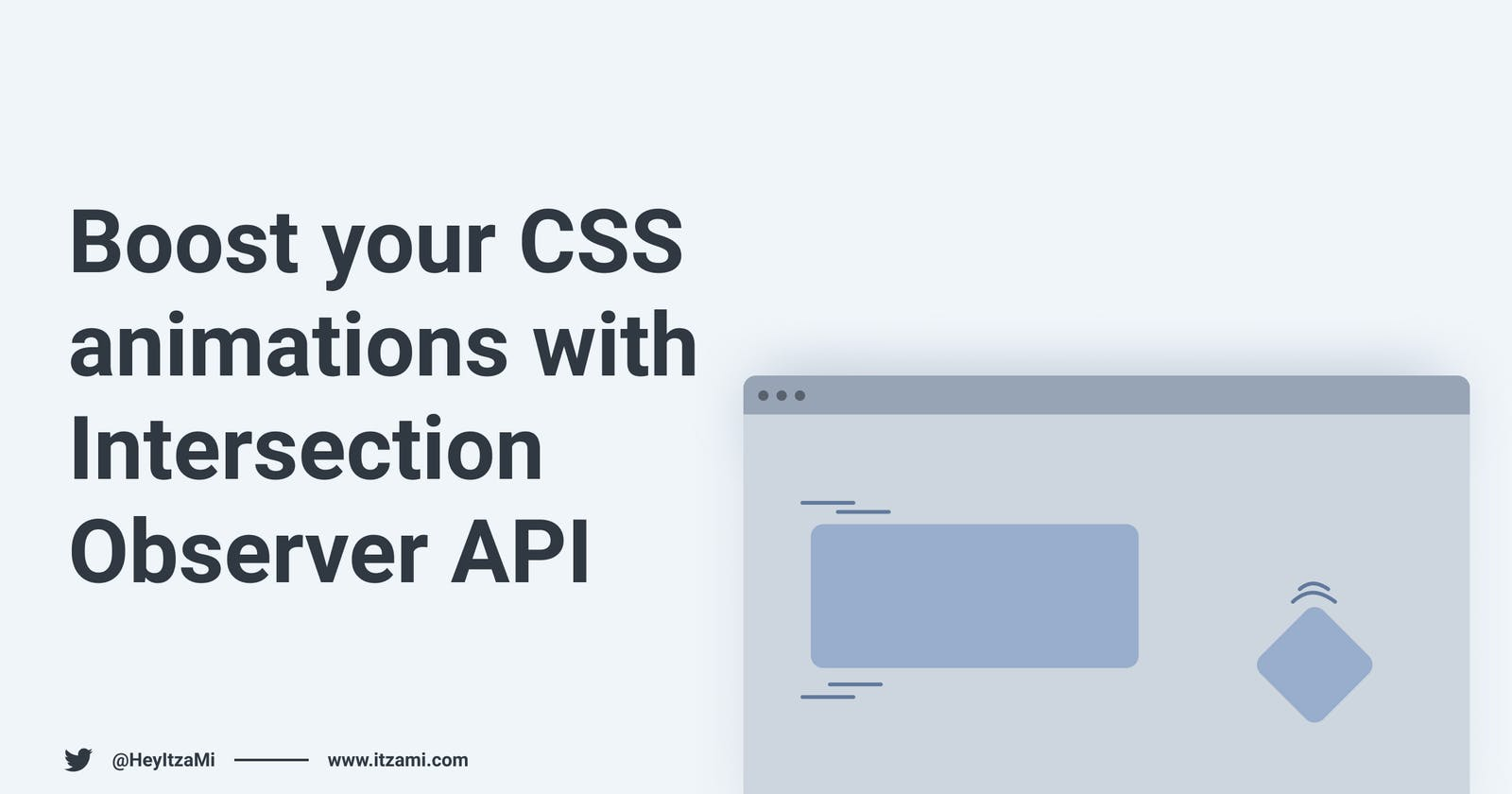 Boost your CSS animations with Intersection Observer API