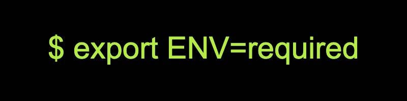Environment Variables (bash)