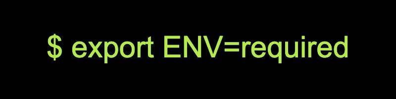 Environment Variables (bash)