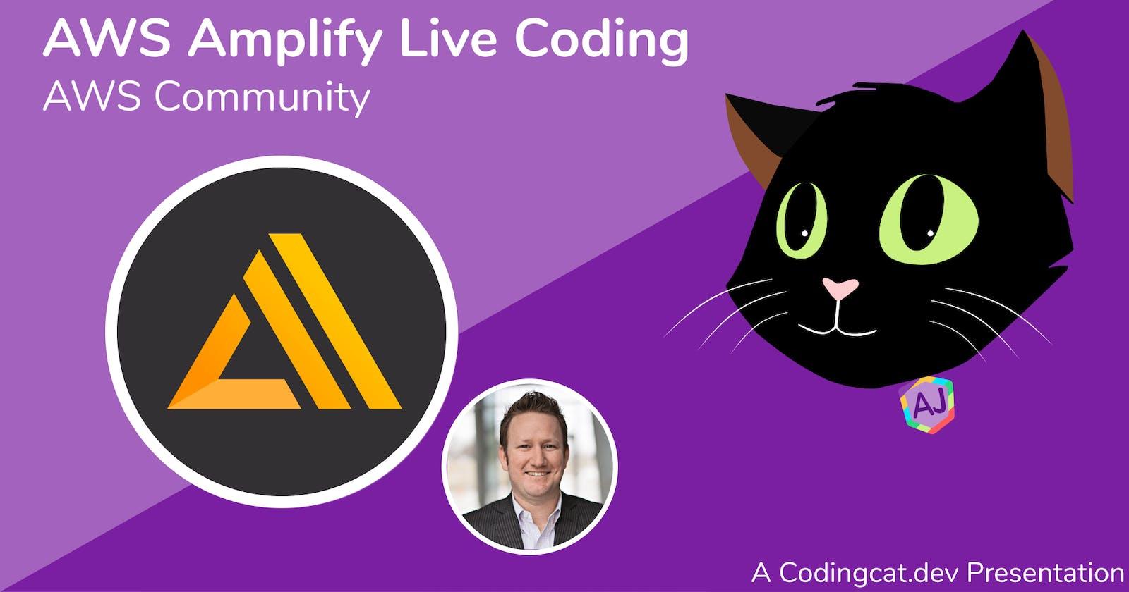 Let the AWS Amplify Hackathon Begin!