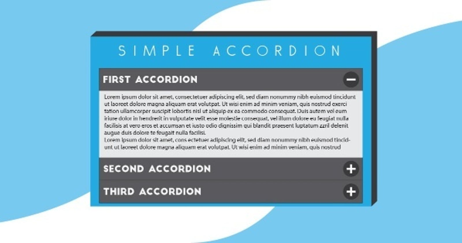 How to Make Accordions in Android?