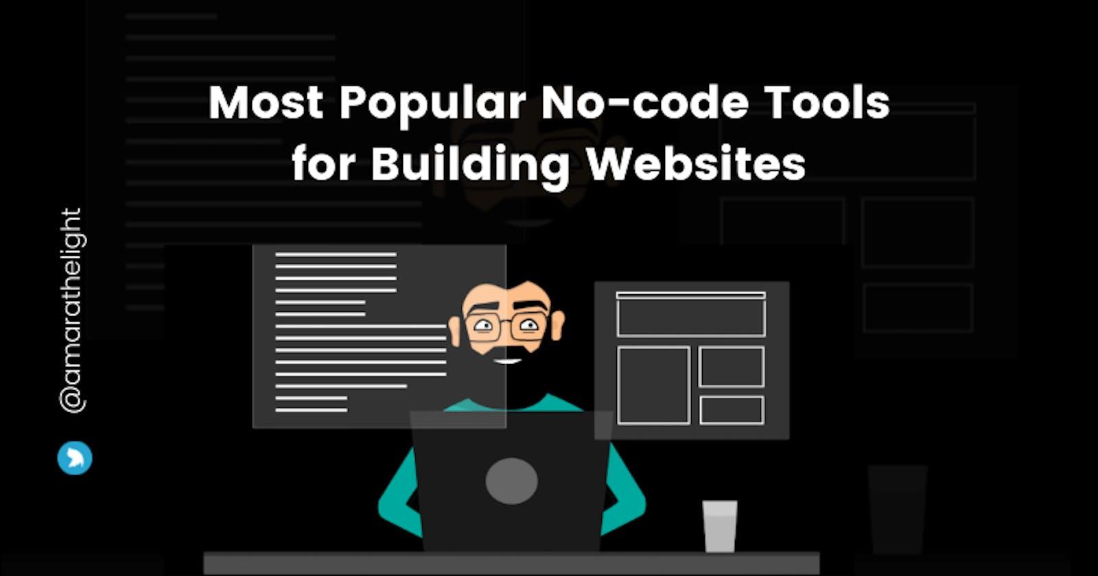 Most Popular No-code tools for Building Websites
