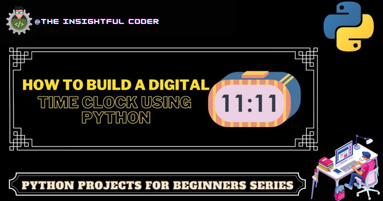 How to Build a Digital Time Clock Using Python