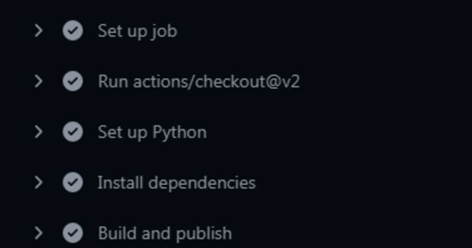 Automate Build and deploy of Python Package using Github actions.