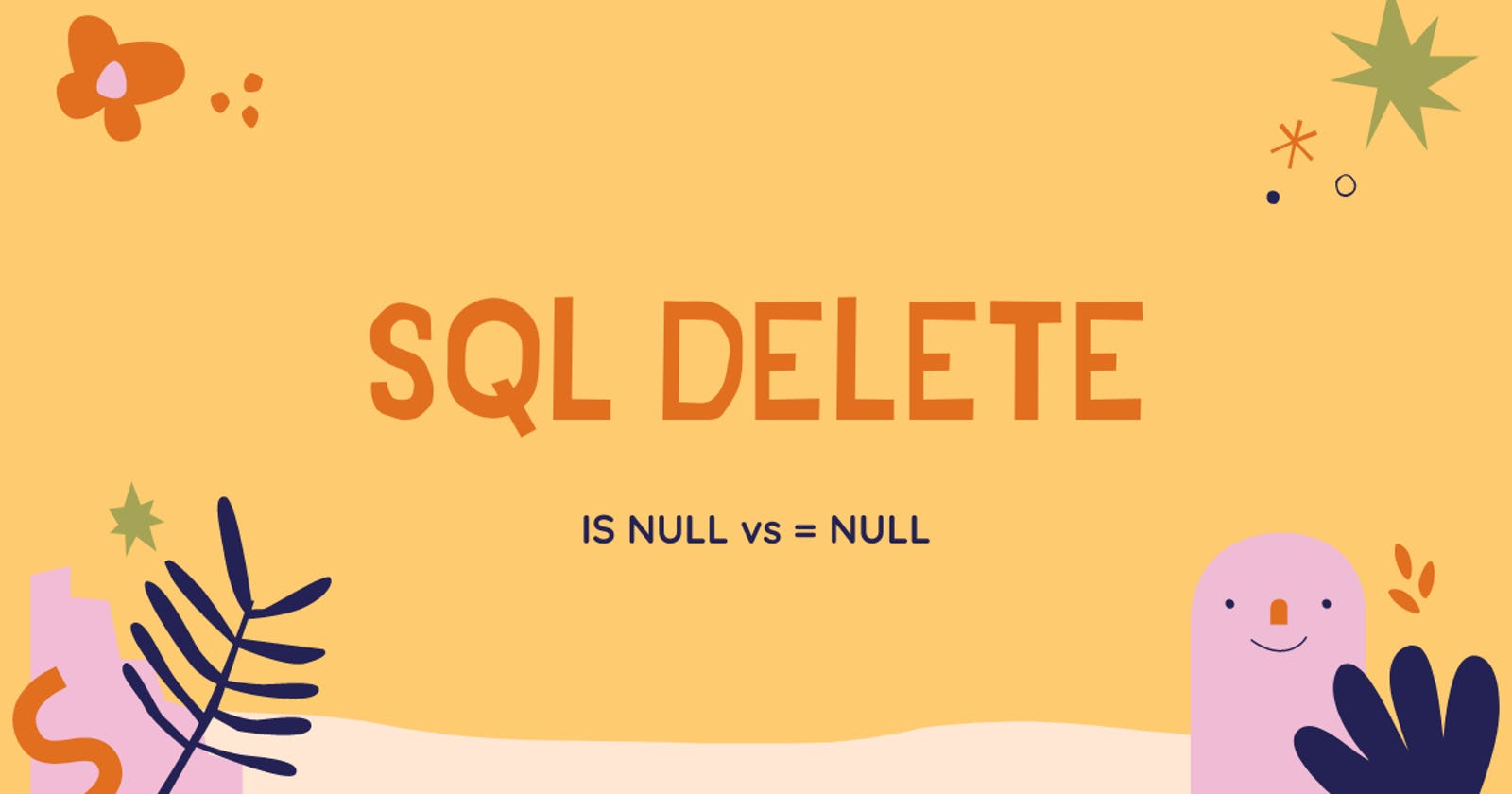 How to use the SQL DELETE clause