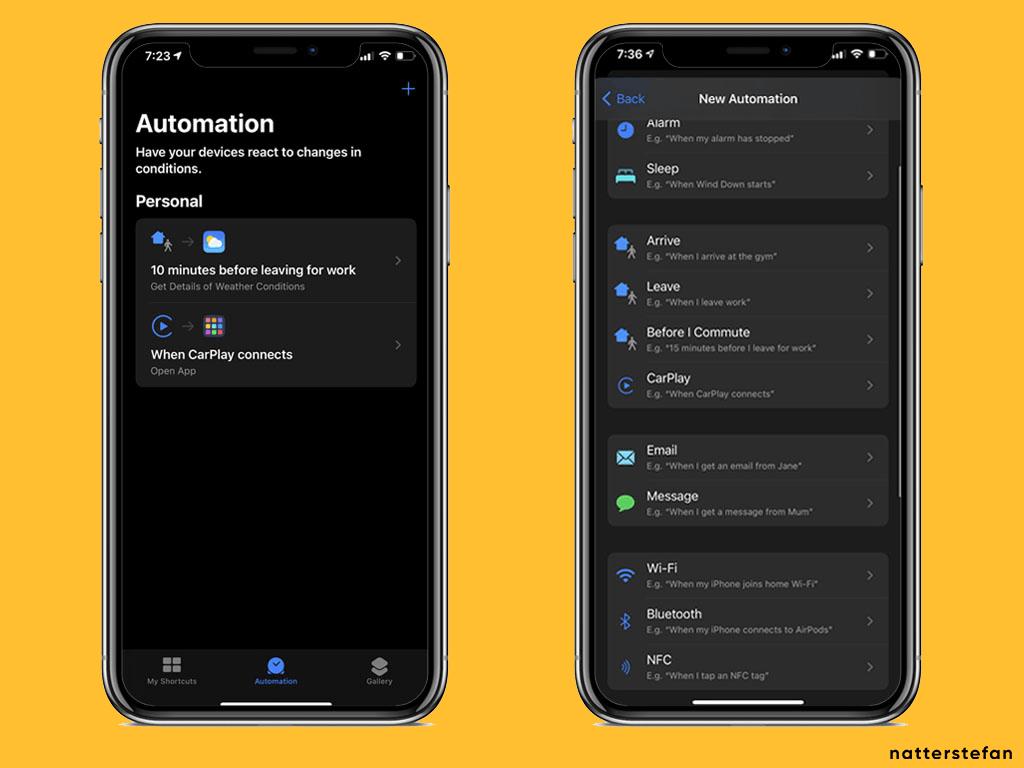 Setup iOS Shortcut - Step 1