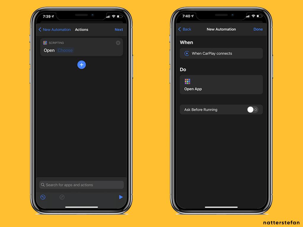 Setup iOS Shortcut - Step 2