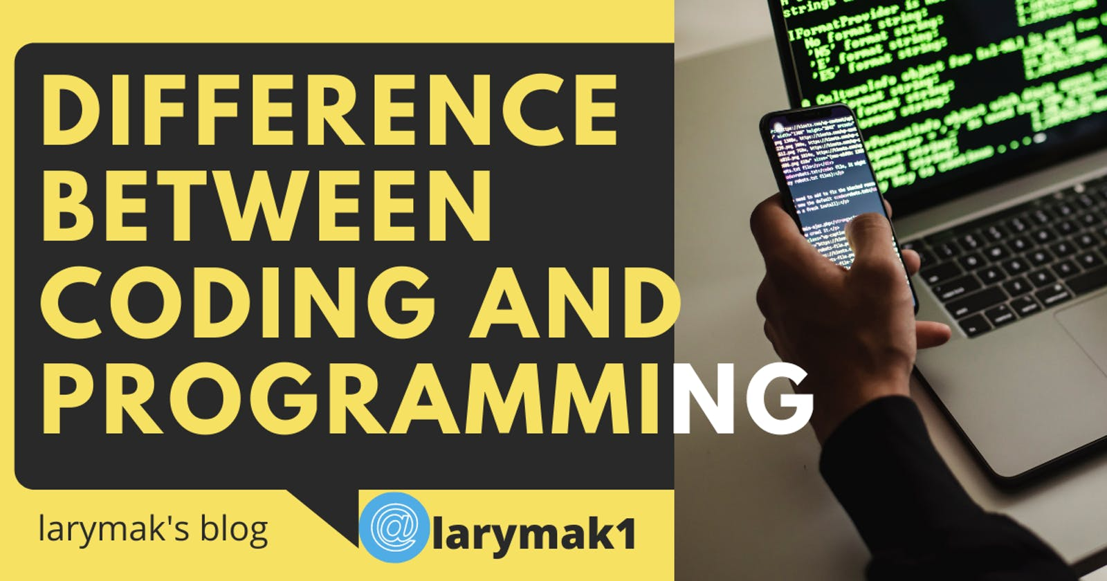 Know The Difference Between Coding and Programming