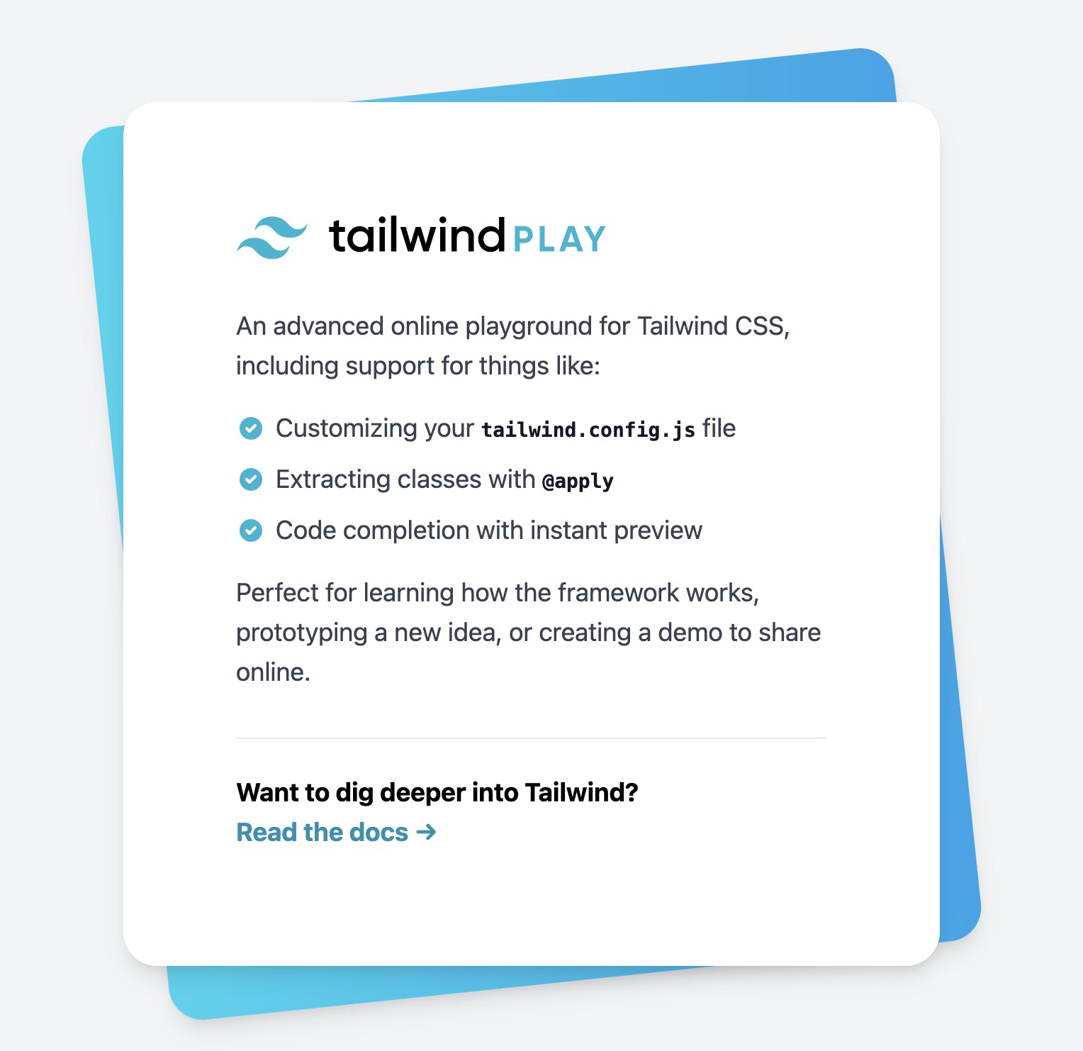 Tailwind Component Example