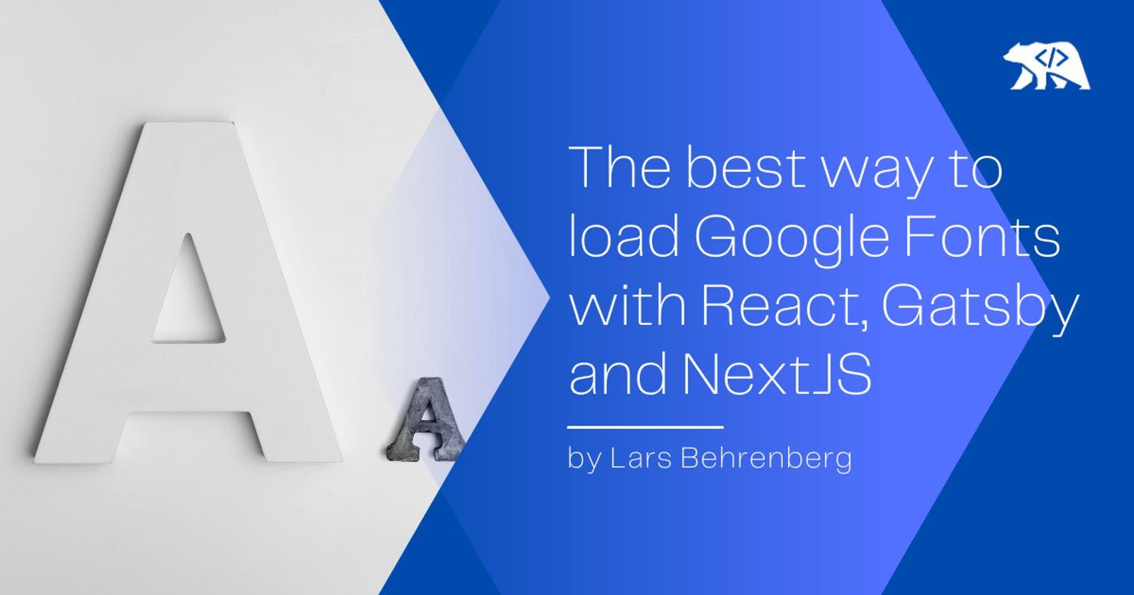 The best way to load and use Google Fonts with React, Gatsby and NextJS
