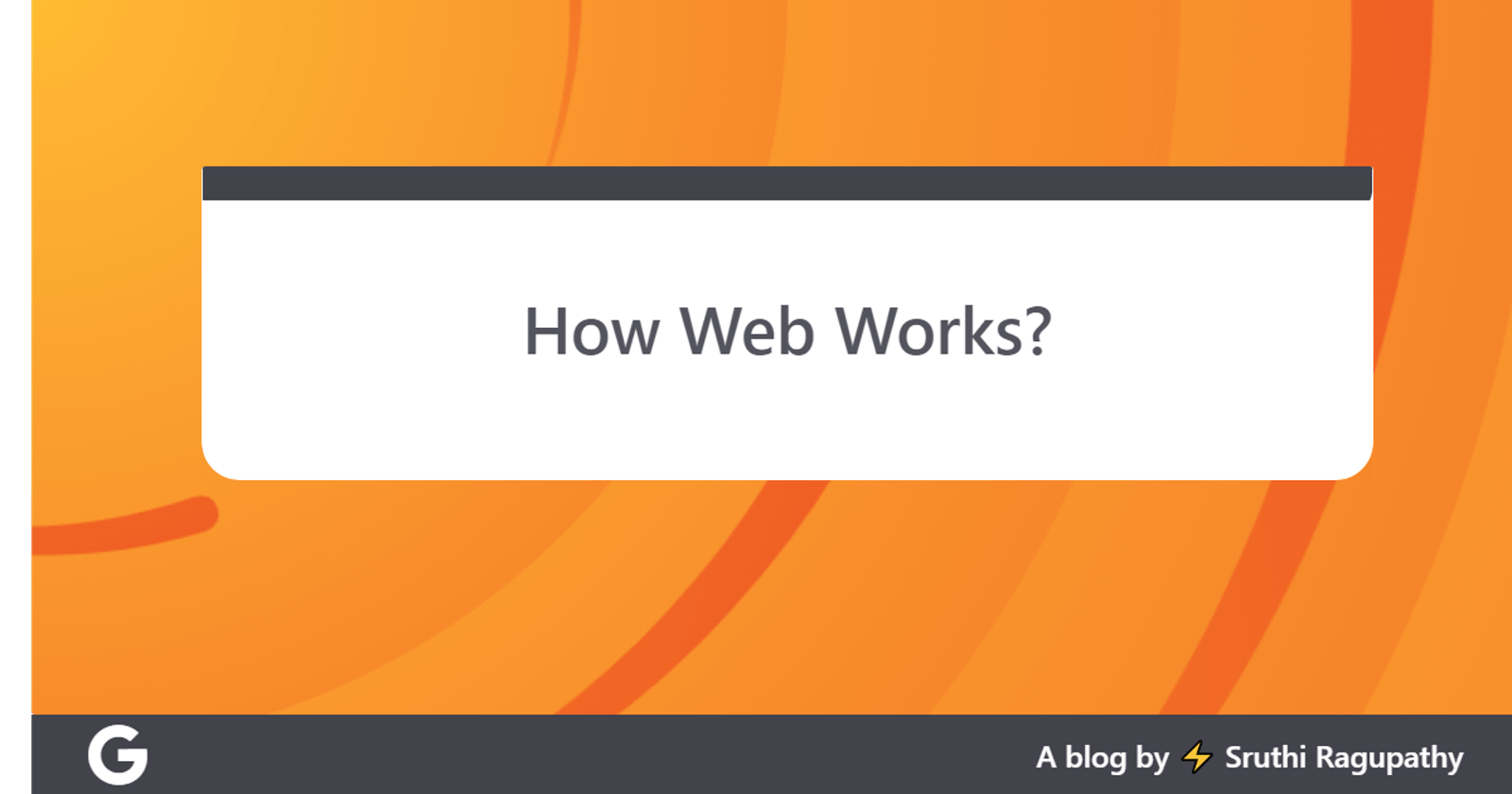 How Web works?