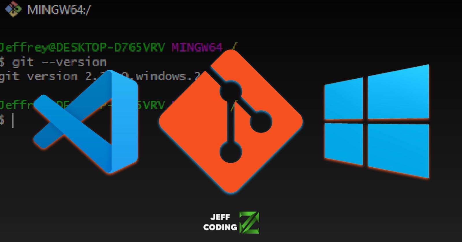 Cómo integrar git-bash en Visual Studio Code (Windows)