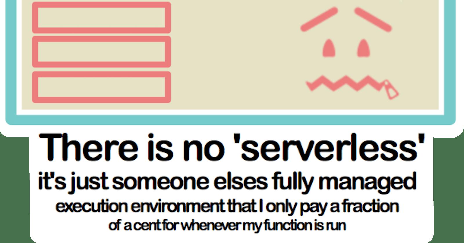 Understanding Serverless using Restaurant Server Analogy