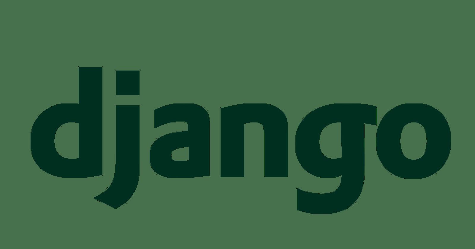 First steps with Django - Part 1