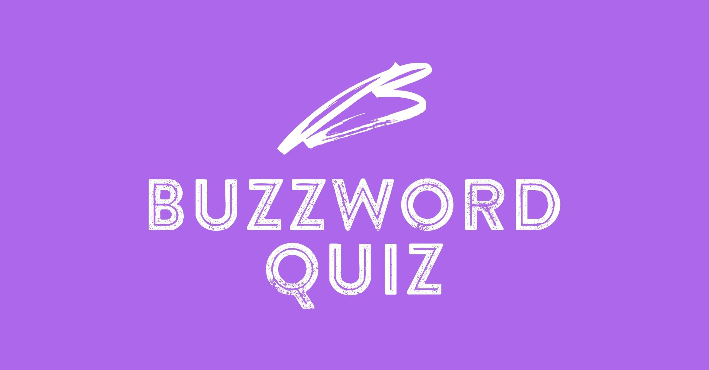 Buzzword Quiz cover