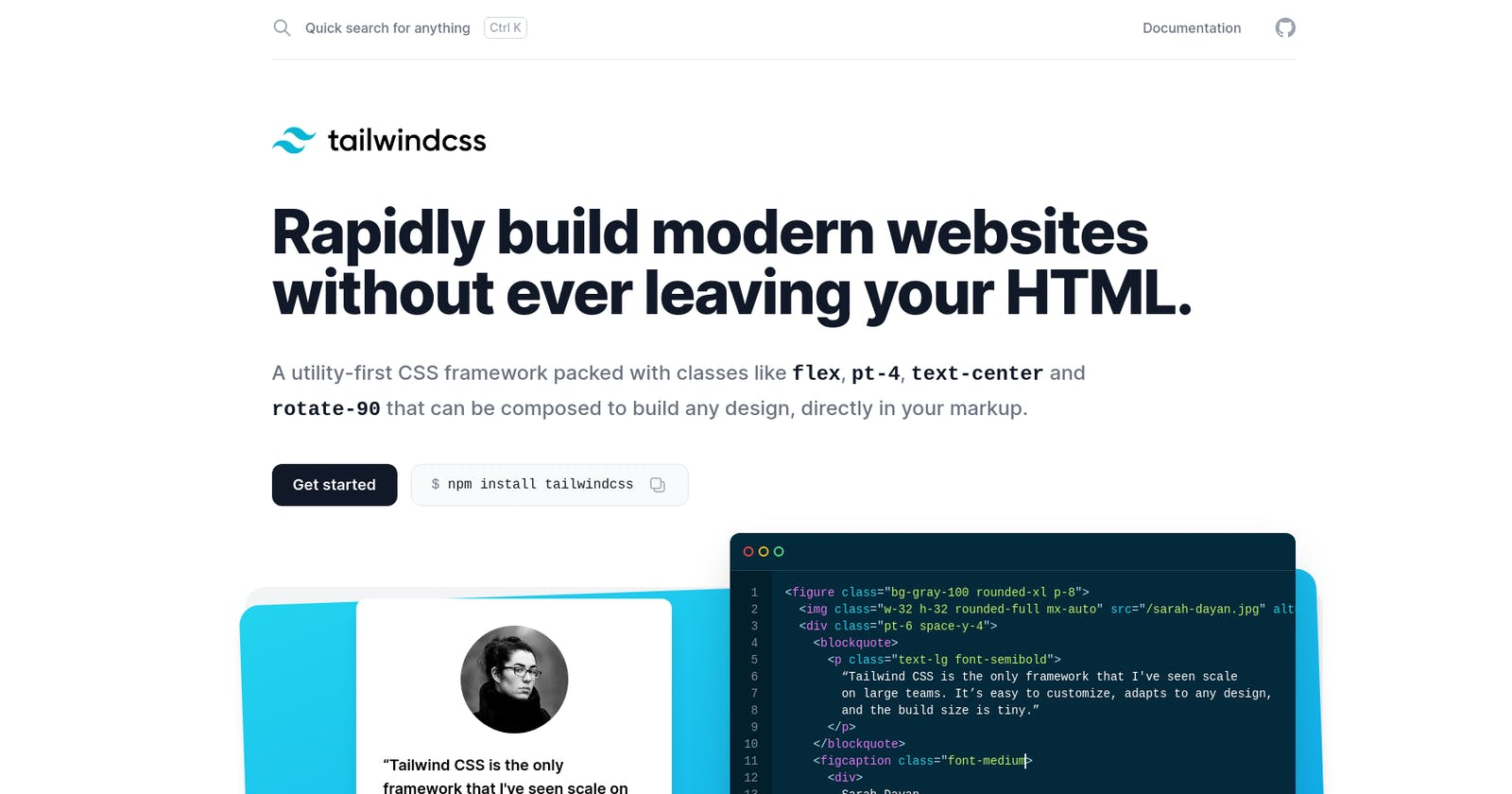 Free Tailwind CSS resources