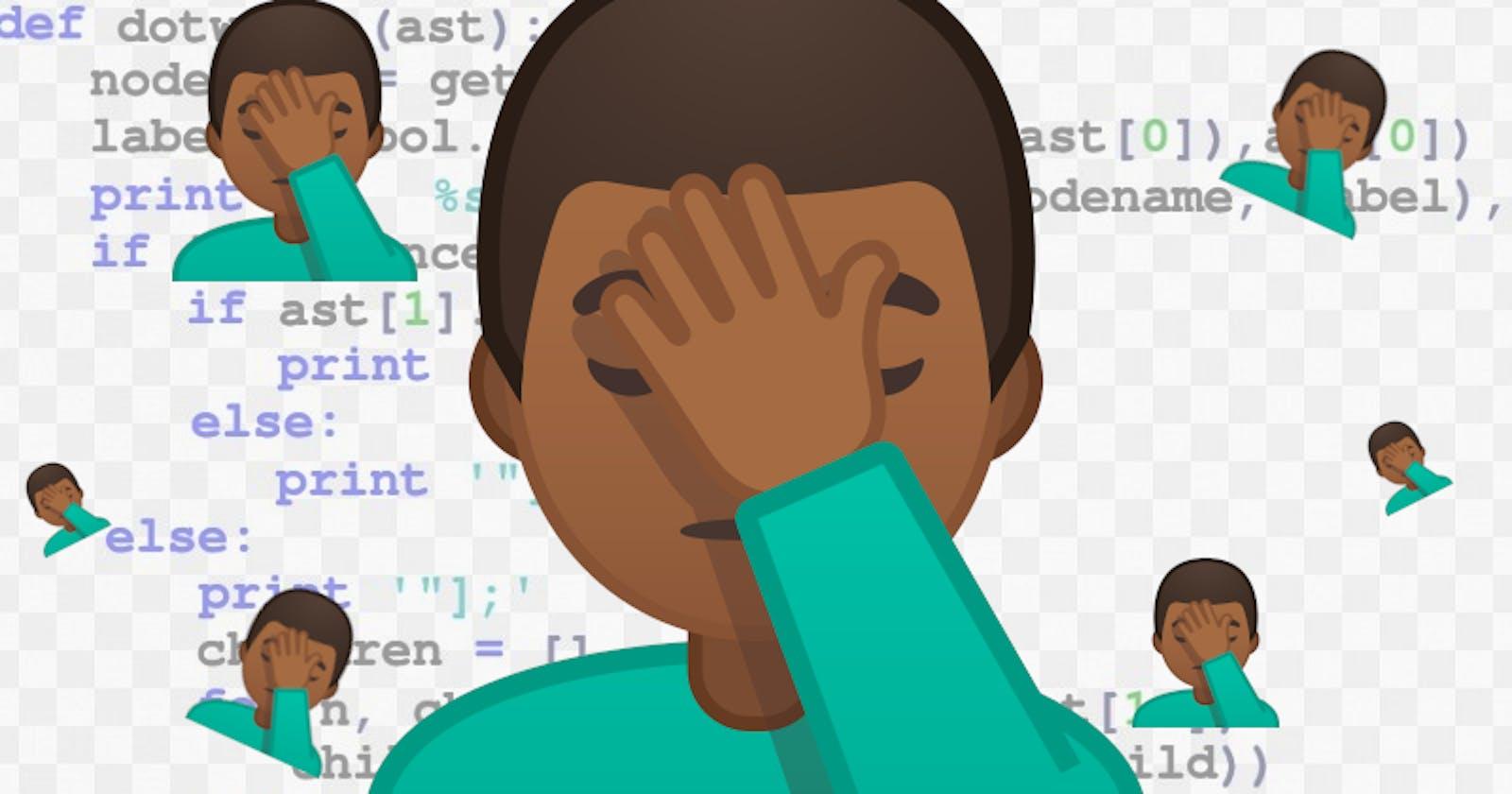 Coding Fail of the Week (February 14-20, 2021)