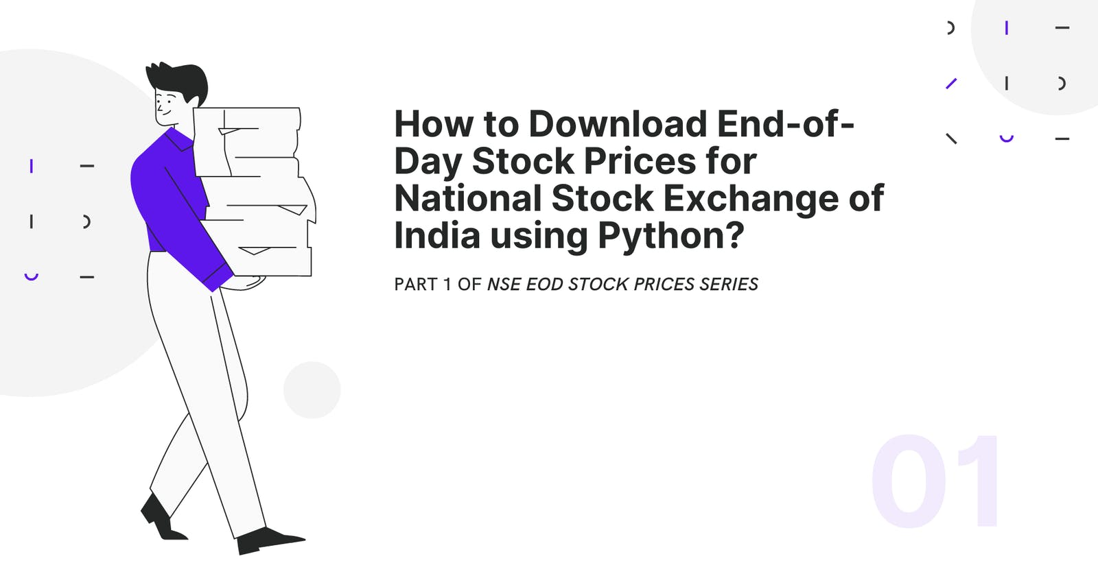 How to Download End-of-Day Stock Prices for the National Stock Exchange of India using Python?