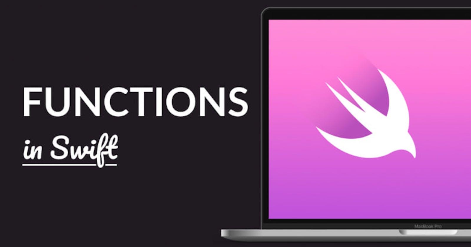 Functions in Swift