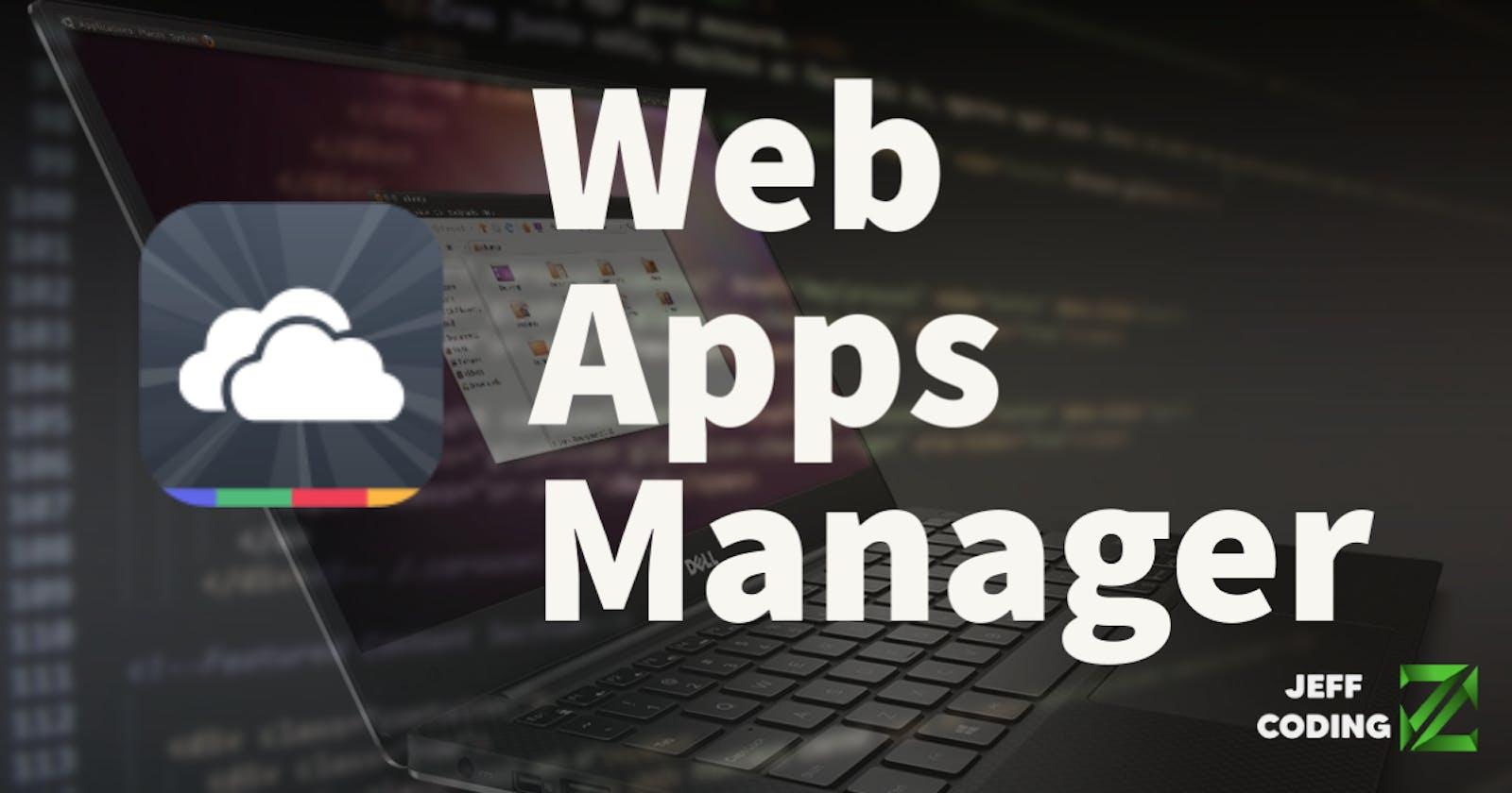 Web Apps Manager: convierte páginas web en aplicaciones de escritorio (Linux)
