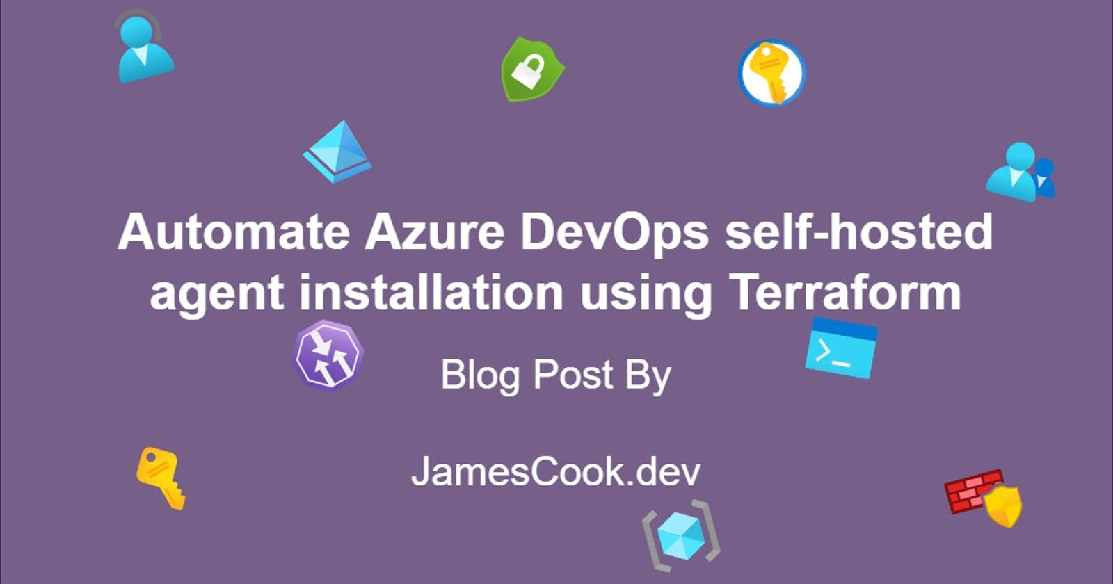 Automate Azure DevOps self-hosted agent installation using Terraform
